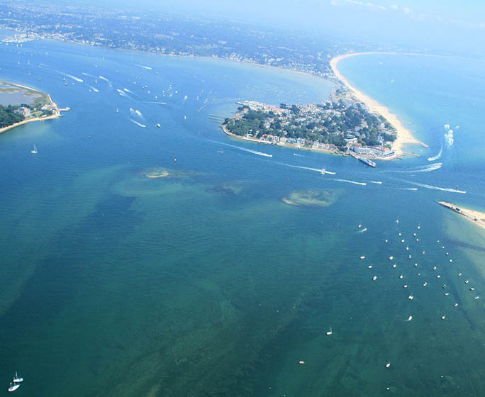 Poole Harbour sandbanks roadtrip
