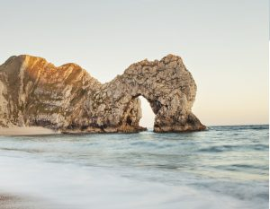durdle door arch beach