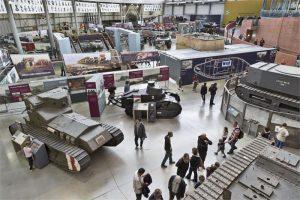 half term activities at the Tank Museum